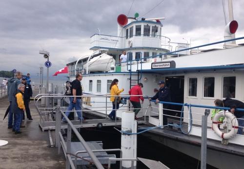 Schiffahrt auf Zürichsee